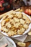 Homemade Baked Apple Pie Royalty Free Stock Photos