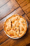 Freshly baked apple pie Royalty Free Stock Images