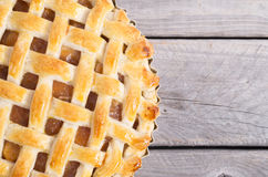 Freshly baked apple pie Royalty Free Stock Photos