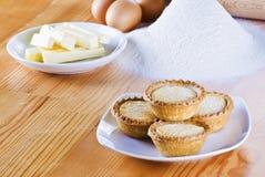 Freshly baked apple pies Stock Image