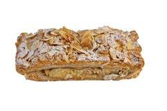 Freshly baked apple strudel stock images