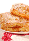 Freshly baked apple turnovers Stock Images