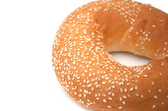 Freshly Baked Bagel Royalty Free Stock Image