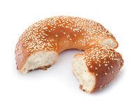 Freshly Baked Bagel Royalty Free Stock Images