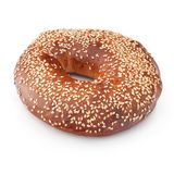 Freshly Baked Bagel Royalty Free Stock Photography
