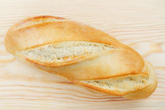 Freshly baked baguette Stock Photography