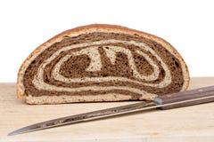 Freshly baked bi-colour gourmet bread Stock Photos
