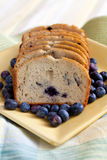 Freshly Baked Blueberry Bread Royalty Free Stock Image