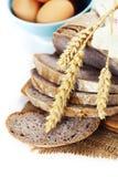 Freshly baked bread stock image