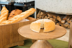 Freshly baked  bread in a bakery Royalty Free Stock Photography