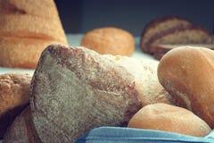 Freshly baked bread buns Royalty Free Stock Photo