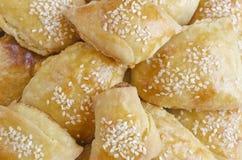 Freshly baked bread rolls Stock Images