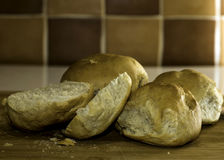 Freshly Baked Bread Rolls Royalty Free Stock Image