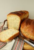 Freshly baked bread several species Stock Photos
