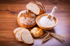 Freshly baked bread Royalty Free Stock Image