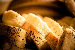 Freshly baked breads Stock Image