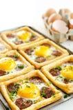 Freshly baked breakfast Stock Photos