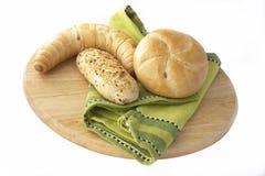 Freshly baked buns Stock Photo