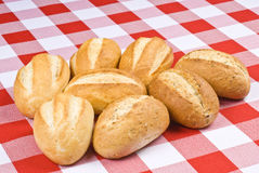 Freshly Baked Buns Stock Photography