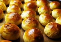 Freshly baked buns Royalty Free Stock Photos