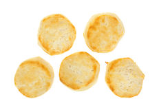 Freshly baked buttermilk biscuits Stock Photos