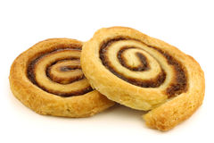 Freshly baked cinnamon rolls Royalty Free Stock Photos