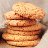 Freshly baked cookies Stock Photos
