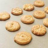 Freshly baked cookies Stock Photo