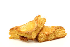 Freshly baked crispy apple turnovers Royalty Free Stock Photos