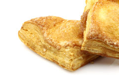 Freshly baked crispy apple turnovers Stock Photography