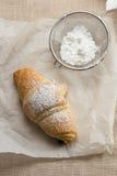Freshly baked croissant Royalty Free Stock Photos