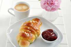 Freshly Baked Croissant Royalty Free Stock Photography