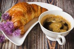 Freshly baked croissant Royalty Free Stock Photo