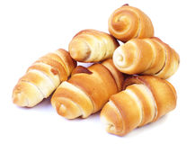 Freshly baked croissants Royalty Free Stock Photography