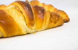 Freshly baked Croissants Stock Photos