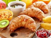 Freshly baked croissants Stock Photography