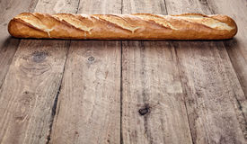 Freshly baked crusty French baguette Royalty Free Stock Image