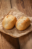 Freshly baked crusty rolls. Stock Images