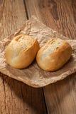 Freshly baked crusty rolls. Stock Images