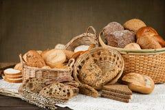Freshly baked crusty white breads Royalty Free Stock Photo