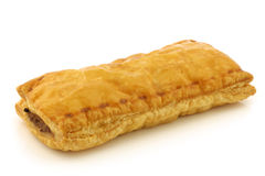 Freshly baked Dutch traditional sausage roll Stock Image