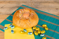 Freshly baked Easter cake Stock Photography