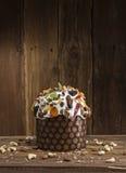Freshly baked Easter cake Stock Image