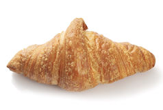 Freshly baked flaky croissant Stock Photos