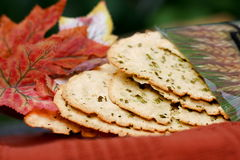 Freshly baked flat bread Royalty Free Stock Photography