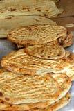 Freshly baked flatbread Stock Photo