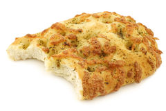 Freshly baked focaccia bread Stock Images