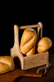Freshly baked French baguette Royalty Free Stock Image