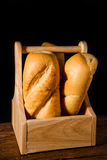 Freshly baked French baguette Royalty Free Stock Photography