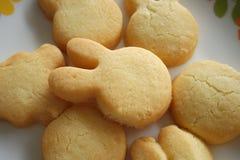 Freshly Baked German Cookies Stock Photos